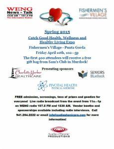 Catch Good Health New Flyer April 2015